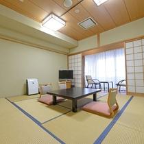 *【和室12.5畳】ファミリー利用にピッタリな和室タイプ。足を伸ばしてゆったりとお過ごしください。