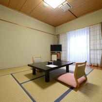 *【和室8畳】1日1室限定のお部屋。ビジネスや一人旅でも利用ができます。