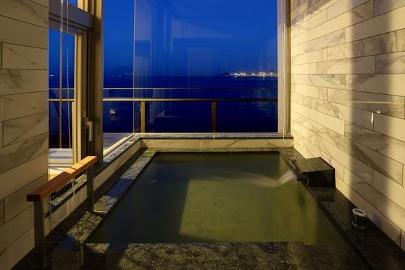 【1泊夕食付】早朝出発や朝はゆっくり過ごしたいあなたへ【旬の和会席と客室温泉展望風呂】