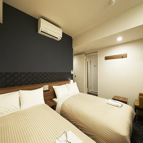 【客室】リラックスツイン<18.8m2>シーリー製ベッド幅120cm