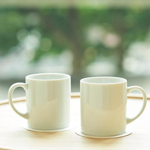 【客室・備品】マグカップでゆっくり朝のコーヒータイムを