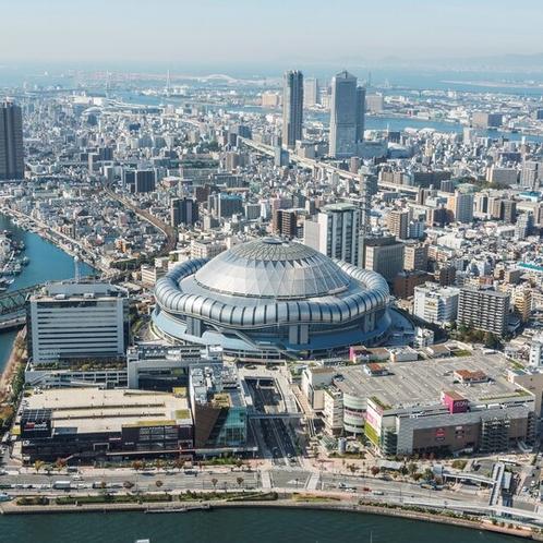 【大阪・観光】京セラドームまでは電車で18分です
