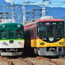 京都へ行こう! 京阪電車特急で淀屋橋~三条は約50分♪