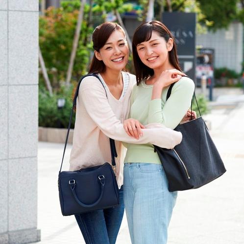 【大阪・レジャー】女性グループでの女子旅にも嬉しい、ツインルームは3種類ご用意しております