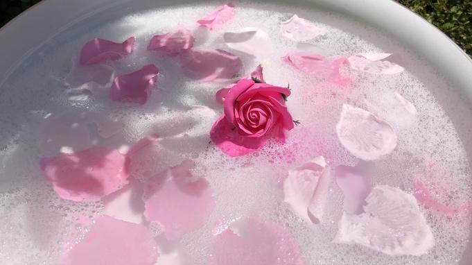 【記念日におすすめ♪】お花のカタチの入浴剤&スパークリングワイン付プラン〜朝食付〜