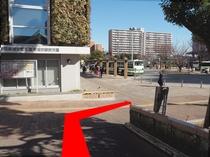 ◆新浦安駅「D」のりば案内7◆下って斜め右へ