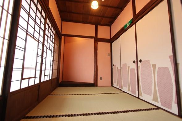 【尾道水道一望】古民家滞在3畳和室貸切プラン(桜の間1~2名様)