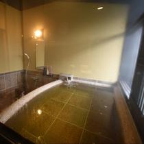 高級感ある、御影石で造られた石風呂で、温泉のぬくもりをごゆっくりお楽しみください。