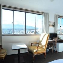◆客室:ビュートリプルからの富士山の眺め