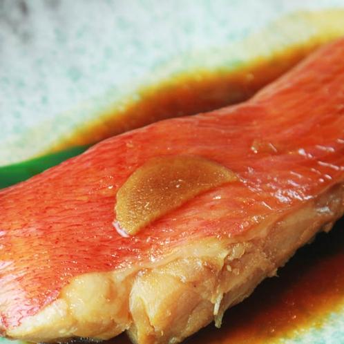 *稲取港で揚がった最高品質の「金目鯛煮付け」