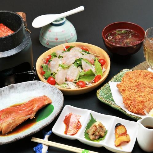 *ご夕食イメージ/からだにやさしい健康・美を考えたお食事です