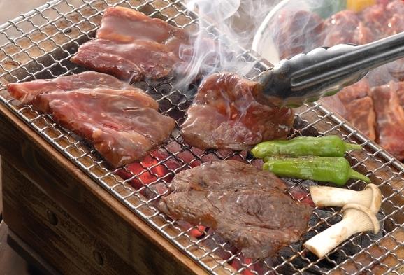 +1,000円で夕食BBQプラン!:本館利用料にお一人様+1,000円(税別)で夕食をBBQに!