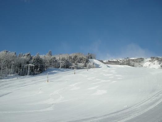 【朝食付】スキーシーズン 名木山ゲレンデは宿の目の前! 1泊朝食付き