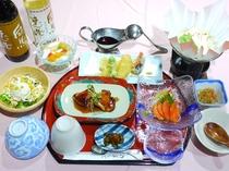 【夕食】和食一例