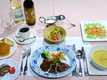 【夕食】洋食一例