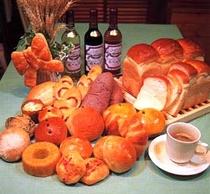【洋食】オリジナル自家焼きパン