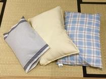 【無料貸し出し備品】別タイプの枕