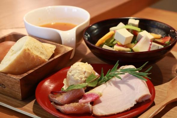 【朝食付き】スタンダードプラン 〜地元食材を使った洋食モーニングプレート〜