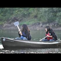 カヌー体験で今まで見たことない景色が見れるかも♪