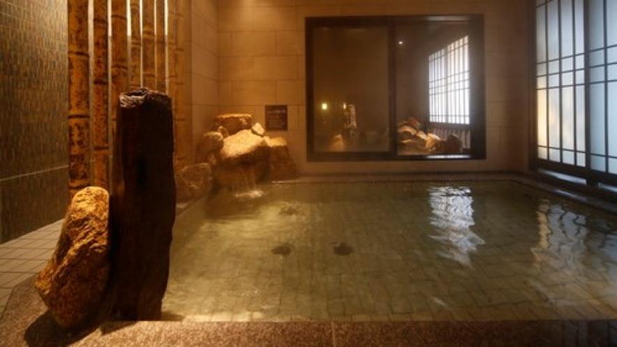 ◇女性大浴場内湯 天然温泉 低張性アルカリ性40度~42度