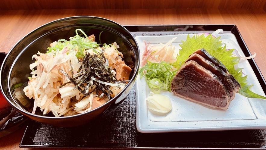 高知限定メニュー!名物カツオ料理