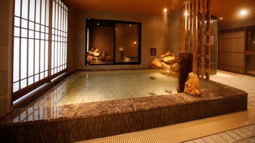 ◇男性大浴場内湯 天然温泉 低帳性アルカリ性40度~42度