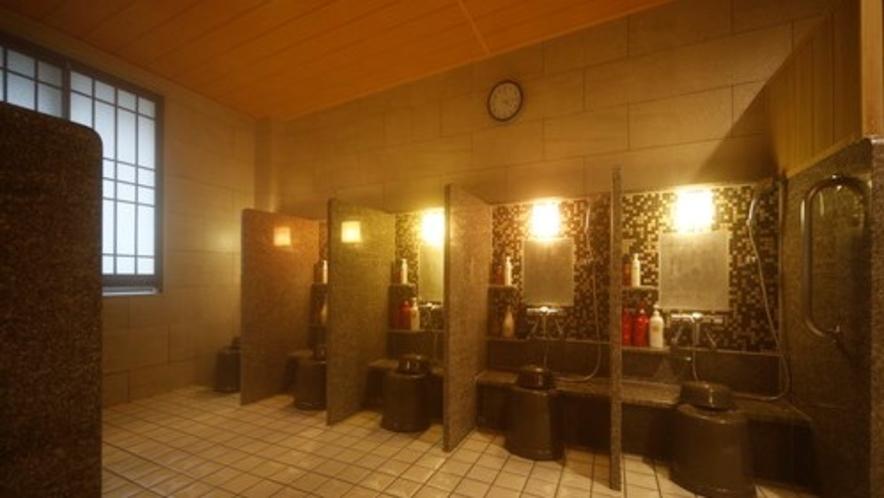 ◇大浴場洗い場 カラン数:8