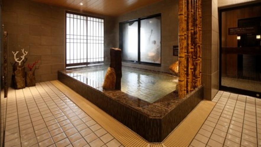 ◇男性大浴場内湯 天然温泉 低張性アルカリ性40度~42度