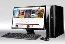2Fリラクゼーションルームには無料PCもございます♪