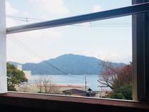 和室(海側)からの景色1