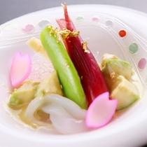 御料理■春・酢物
