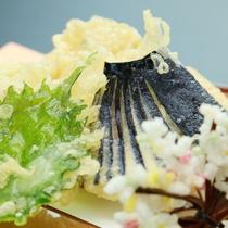 御料理■冬・天麩羅