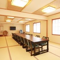 「宴会場」親しい方々とのお集まりに最適なスペースです。