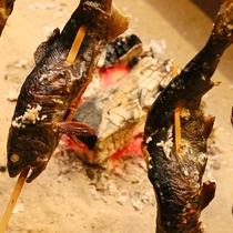 御料理■春・山女の塩焼き