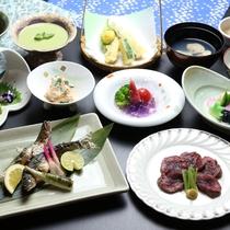 御料理■夏・スタンダードコース