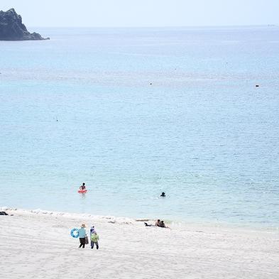 【夏休み 幼児無料】白砂のビーチと透き通った海まですぐ!美しいサンセットや天の川に感動!/朝食付