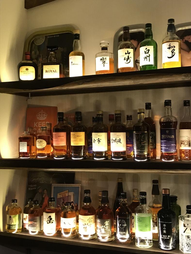 ウィスキー棚