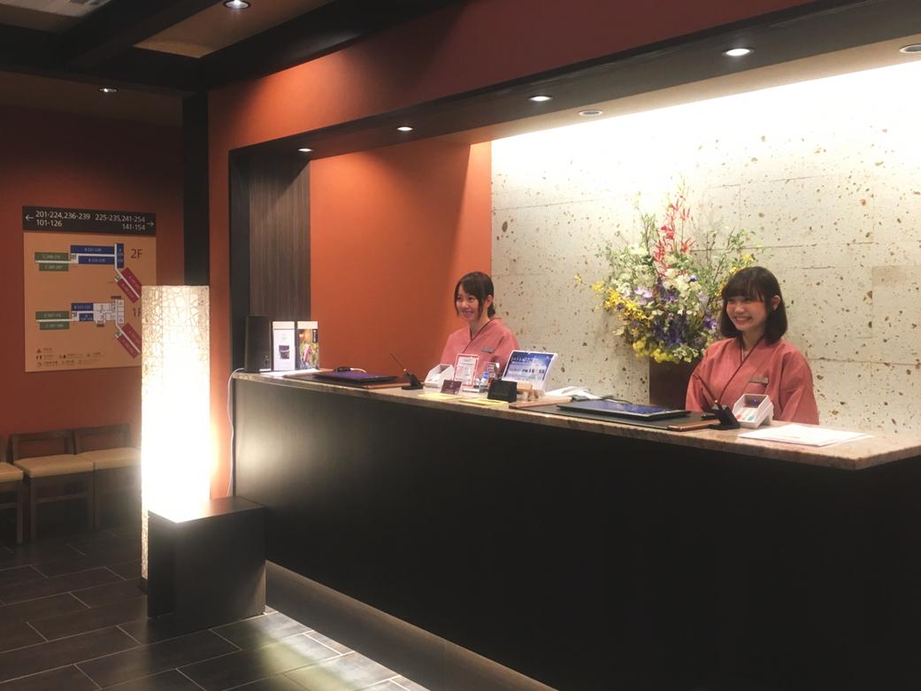 心温かいホテル たびのホテル飛騨高山 皆様を笑顔でお出迎え致します。