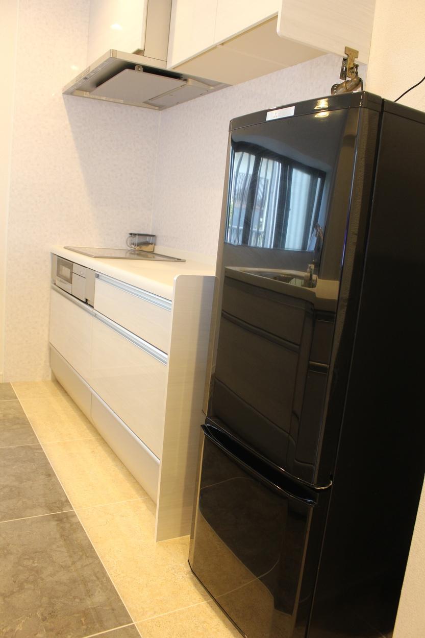 冷蔵庫&オール電化キッチン♪