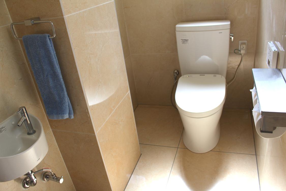 1F 自動洗浄機付きトイレ