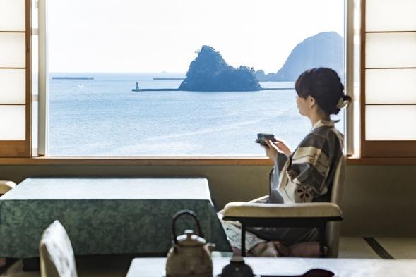 【一人一室旅】★下田の一人旅★1日3室限定★海鮮浜焼きバイキング【和風館客室海側】