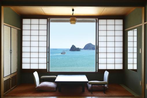 和風館客室(10畳・海側)【Aタイプ】