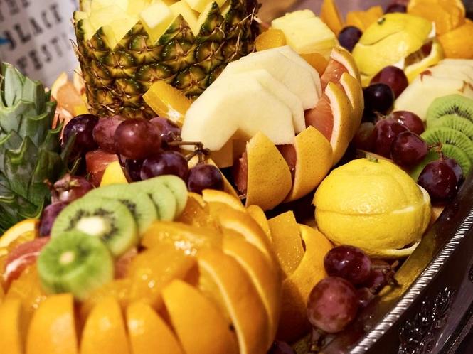 フルーツの盛り合わせ♪