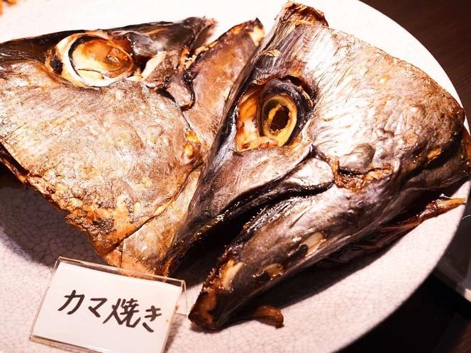 下田聚楽ホテルの名物、マグロのカマ焼♪