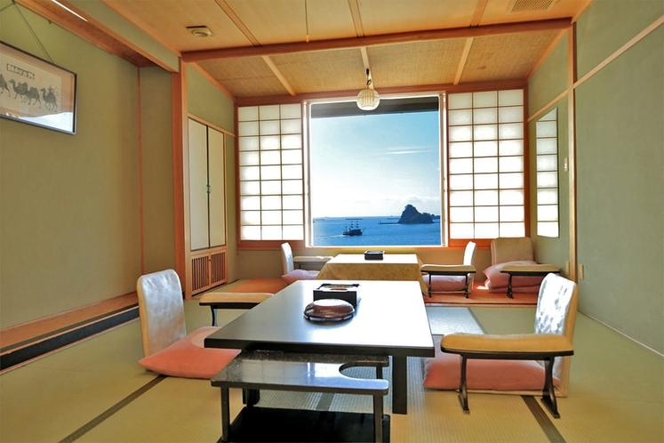 和風館客室(10畳・海側)