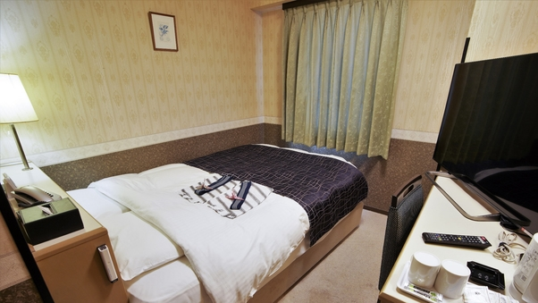 ダブル 禁煙室 140cmベッド