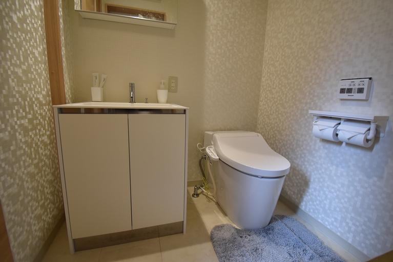 洗面台、トイレ(ウォシュレット付き) ツイン