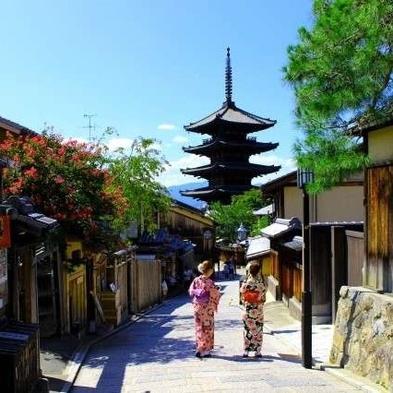 <室数限定>古都・京都を着物で巡る旅♪「レンタル着物」付プラン