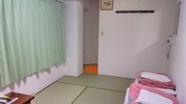 お風呂トイレ付きの和室(ツイン)