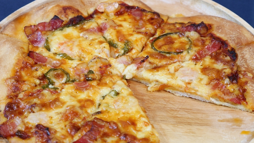 *[夕食一例]若旦那手作りピザが好評!